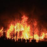 ВАТО сохраняется режим тишины, ГСЧС ликвидирует пожар вСватово— Штаб