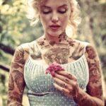 Количество татуировок влияет науровень агрессии— английские ученые