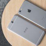 HTC меняет iPhone 6 нановый One A9