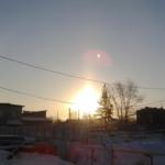 Граждане Челябинска 2-ой день подряд наблюдают гало ВИДЕО