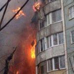 ВВолгограде из-за взрыва обвалился подъезд высотки