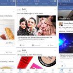 Социальная сеть Facebook начал тестировать тематическое разделение новостной ленты