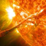 Обсерватория NASA зафиксировала экстремальную ультрафиолетовую вспышку наСолнце