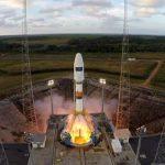 Скосмодрома Куру стартовала ракета «Союз» севропейским спутником