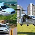 1-ый летающий автомобиль выпустят уже в 2018г.