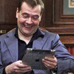Медведев зашел на«пожизненно заблокированный» Rutracker ссобственного планшета