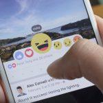 Социальная сеть Facebook ввел еще 5 реакций ккнопке «нравится»